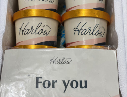Harlow ICE CREAMのアイスクリームをご紹介!
